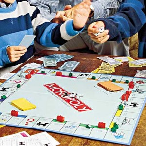 kids & monopolgy game