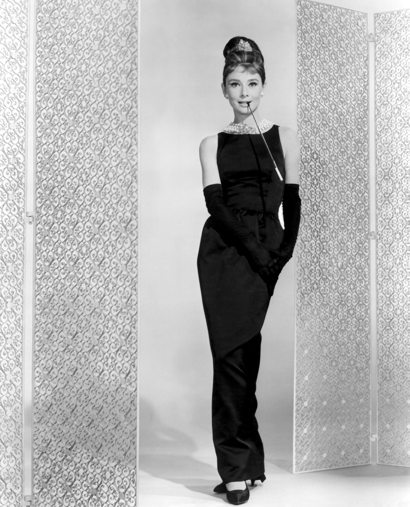 How to rock a little black dress carpool goddess for Audrey hepburn pictures to buy