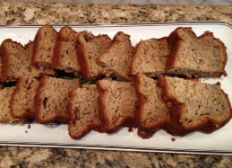 Banana bread it counts as a serving of fruit right carpool goddess we forumfinder Choice Image