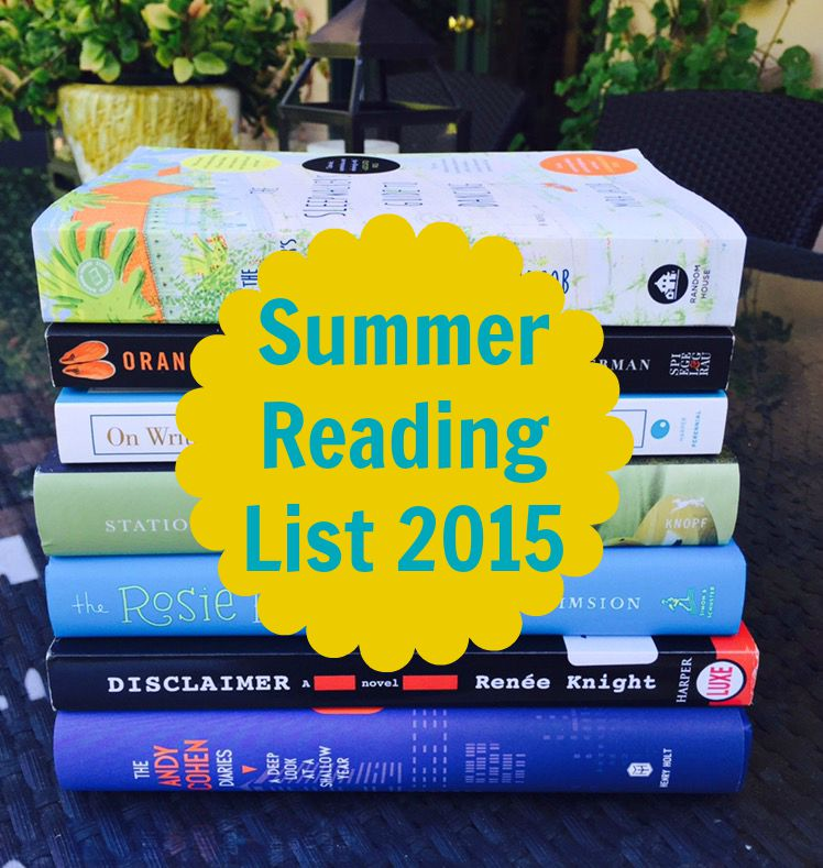 summer reading list 2015